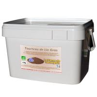 Tourteaux de lin BIO - 5 kg