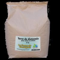 Terre de diatomée alimentaire pour les poules - 25 kg