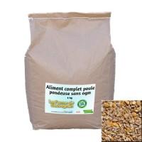 Aliment complet poule pondeuse sans OGM - 5 kg